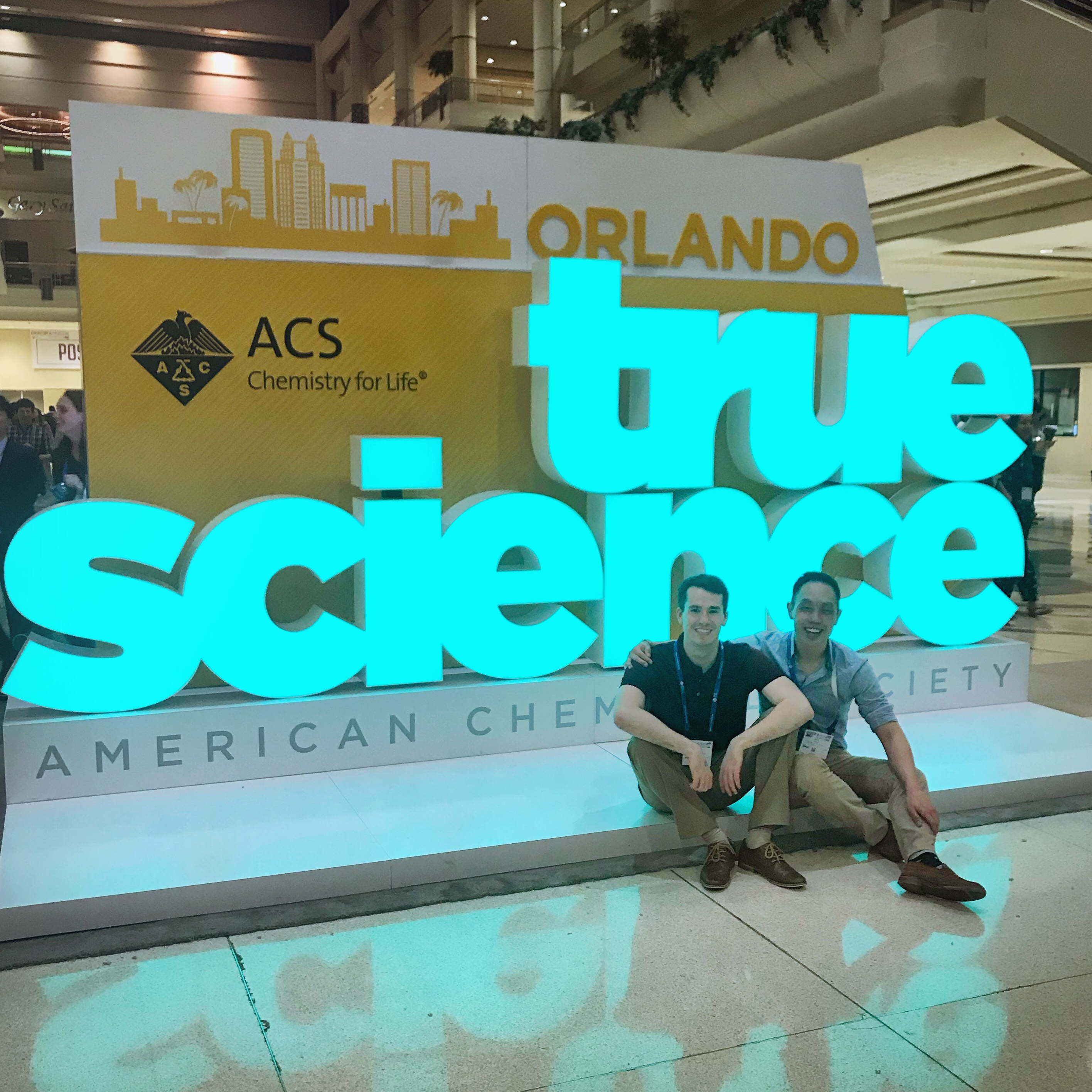 Joseph and Jeff at ACS2019